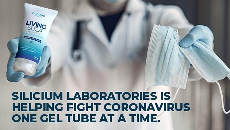 Help fight the good fight against COVID-19 with Silicium Laboratories